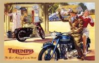 Triumph Postcard