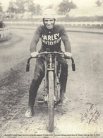 AMA Hall of Fame Racer Jim Davis Poster