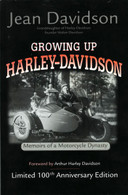 Growing Up Harley-Davidson front cover