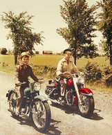 1950's Riding Couple Poster