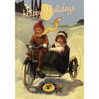 Jolly Christmas Postcard
