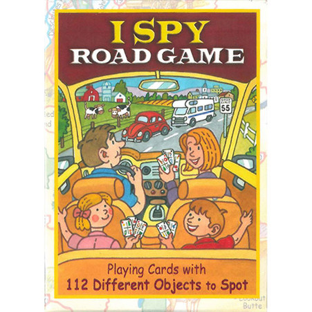 I Spy Road Game Playing Cards