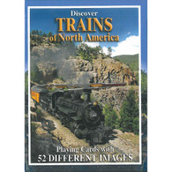 Trains of North America Playing Cards