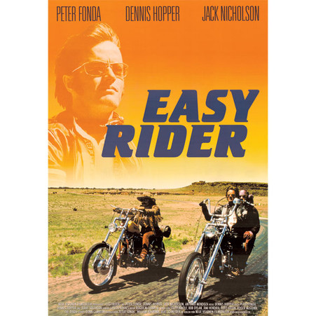 1969 'Easy Rider' Sunset Movie Poster