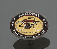National Motorcycle Museum Logo Pin