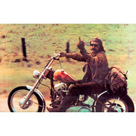 "Easy Rider Movie Scene ""The Bird"" Magnet"