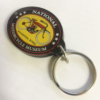 National Motorcycle Museum Acrylic Logo Key Ring