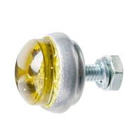 Glo Brite Glass Saddlebag Reflector - Yellow