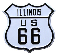 Route 66 Illinois Magnet