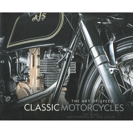 The Art of Speed - Classic Motorcycles, front dust jacket