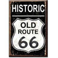 Historic Old Route 66 Vintage Magnet