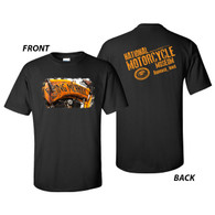 National Motorcycle Museum Flying Merkel T-shirt