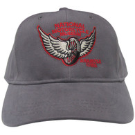 "National Motorcycle Museum ""Winged Wheel"" Charcoal Cap"