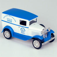 """1931 Ford """"Victor McLaglen Motor Corps"""" Model A Delivery Truck Die-Cast Model Coin Bank"""