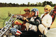 1969 'Easy Rider' Color Movie Poster