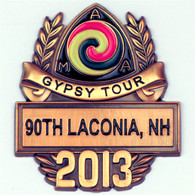2013 Laconia Gypsy Tour Pin
