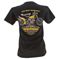National Motorcycle Museum 'Cop Bike Gone Bad' T-Shirt