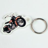 National Motorcycle Museum Logo Motorcycle Key Ring