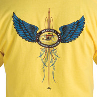 National Motorcycle Museum 'Pinstripe' Daisy T-Shirt