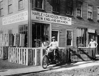Harley-Davidson New England Branch Poster