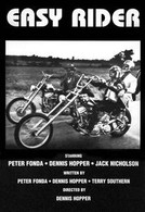 1969 'Easy Rider' Black/White Marquee Movie Poster