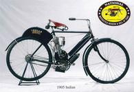 1905 Indian Motorcycle Postcard