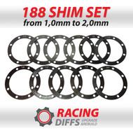 Racing Diffs BMW 188mm Differential Shim Kit