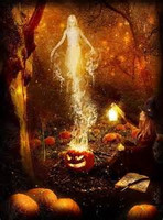 Autumn Faerie psychic Glamour for Increased Perception of the Spirit World and spirit Awareness