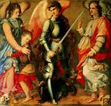 Trio of Holy Angels spiritual Safeguarding Protection spell for if you feel Scared or Spooked at Night or When you are Alone