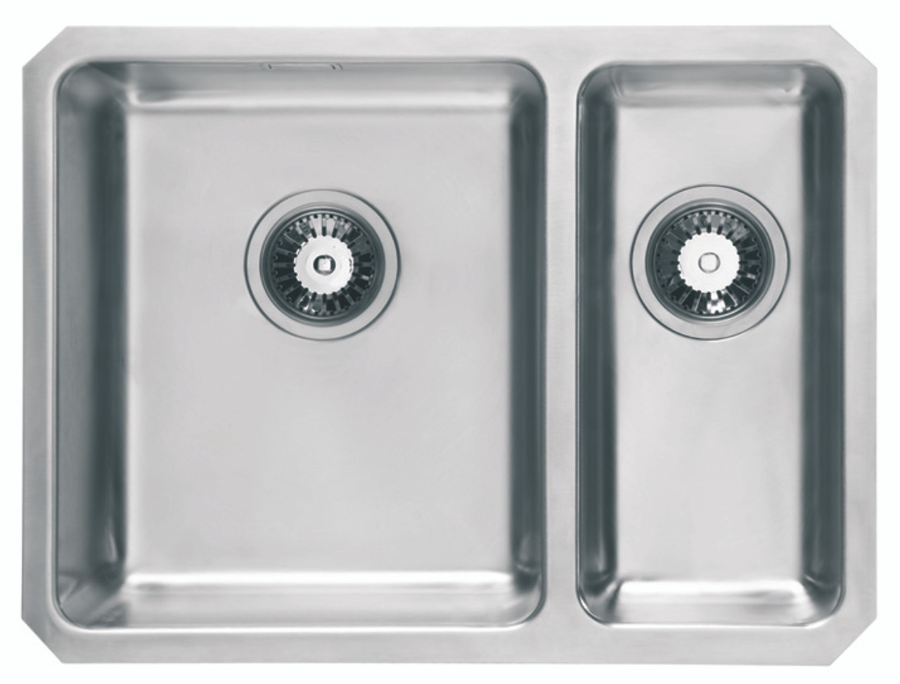 One And A Half Sink Part - 20: Brass U0026 Traditional Oasis Combi Stainless Steel One + Half Bowl Undermount  Sink