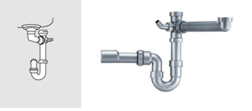 Franke Siphon 1 (Lira 1) Plumbing Kit