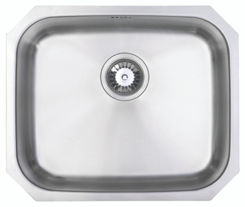 Brass & Traditional Epsom Stainless Steel Single Bowl Undermount Sink