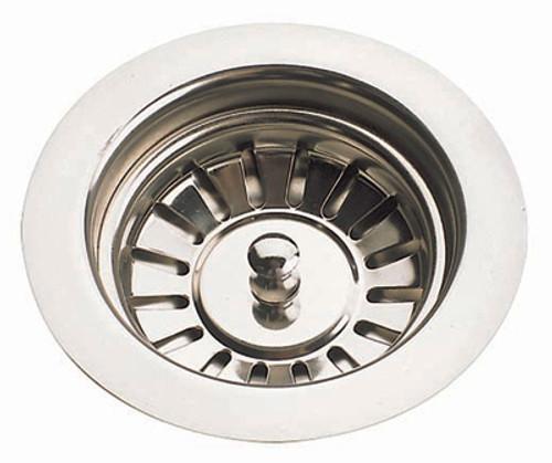 brass traditional sinks by mcalpine 90mm ceramic kitchen sink strainer waste. beautiful ideas. Home Design Ideas