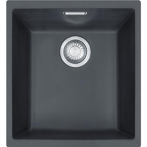 Franke Sirius SID110 34 Tectonite Carbon Black Kitchen Sink