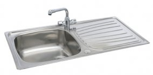 Carron Phoenix Precision Plus 100 Kitchen Sink