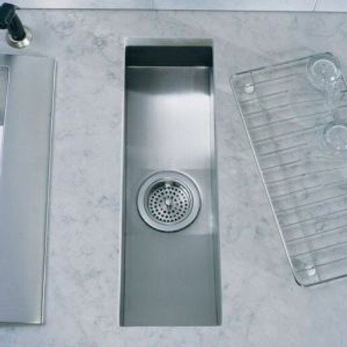 Kohler Icerock Trough 559mm Kitchen Sink