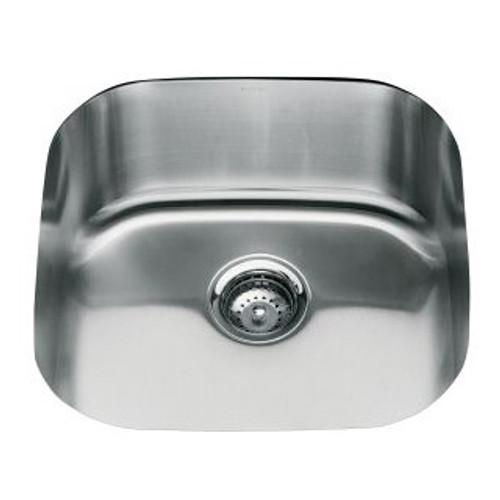 Kohler Icerock Single Bowl 490 X 490mm Kitchen Sink