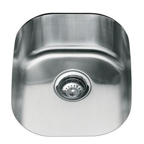 Kohler Icerock Single Bowl 395 X 500mm Kitchen Sink