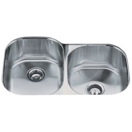 Kohler Icerock 1.5L Hi/Low Kitchen Sink
