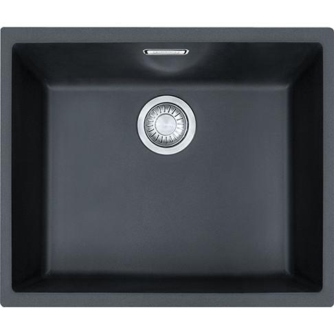 Franke Sirius SID110 50 Tectonite Carbon Black Kitchen Sink ...