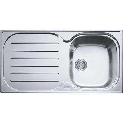 franke compact plus cpx p611965 stainless steel kitchen sink - Franke Sink