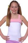 Girls Reversible Tennis Top SW-P2101-White Image 15
