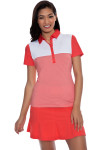 Cutter and Buck Women's Basics Bailey Block Golf Polo Shirt