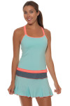 Sofibella Fiji Aqua tennis Skirt - image 5