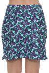 Woodland Floral Sport Pull On Golf Skort