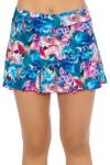 "Sofibella Women's Tulum Flounce Hem Tulum 13"" Tennis Skirt SFB-1585 Image 2"