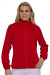 Greg Norman Women's Essentials Red Heathered Golf Jacket   GN-G2S7J022