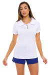 Bargray Women's Pebble White Golf Short Sleeve | Golf or Tennis Wear
