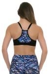 PrismSport Women's Flex Scribble Sports Bra PS-1010NBT-SBB Image 6