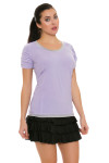 Bargray Women's Perfect Tunic II Orchid With Back Ruching   Golf or Tennis Wear